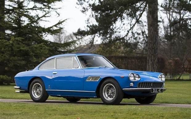 Ex-John Lennon Ferrari sells for £360,000