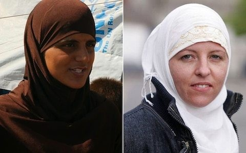 British Isil recruiters Tooba Gondal and Lisa Smith found in makeshift jail run by Syrian rebels
