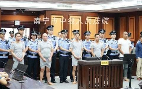 Six Chinese men imprisoned after each outsourced the same hit job