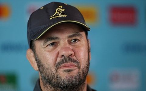 Michael Cheika questions Eddie Jones' decision to invite Australian rugby league coach Ricky Stuart into England camp