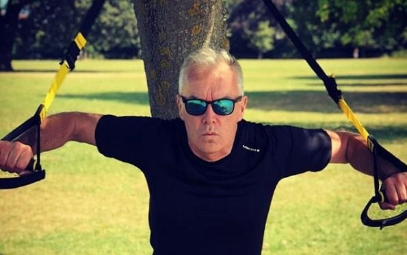 Huw Edwards's weight loss secrets: how to shed pounds with resistance bands