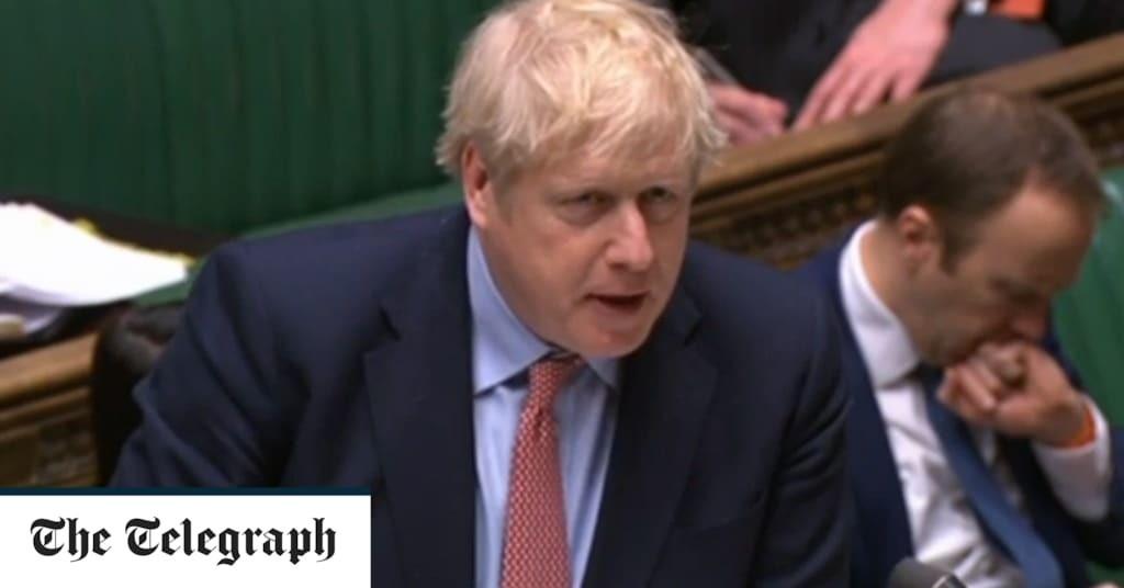 Boris Johnson's letter to the nation on Coronavirus in full