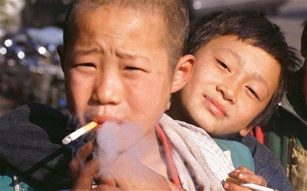 China bans cigarettes from schools