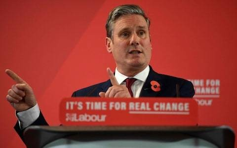 I'm standing against Sir Keir Starmer to challenge his lack of integrity