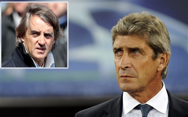 Manchester City manager Roberto Mancini on the brink as club close in on Malaga's Manuel Pellegrini