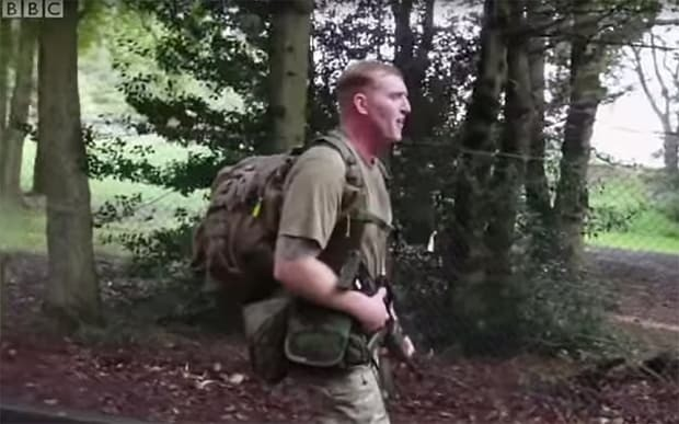 Army instructors told to cut down swearing at recruits
