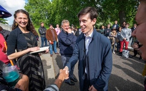 Rory Stewart reveals the secret to his success: his wife who has quietly been running his campaign to become Tory leader