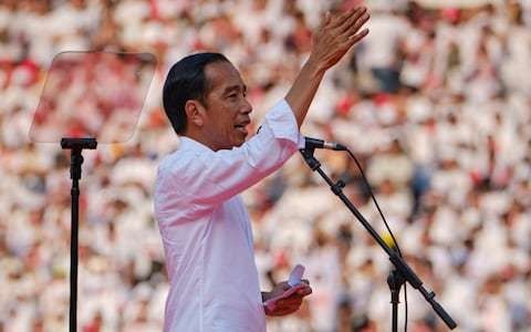 Indonesian president Joko Widodo re-elected in clear victory, but opposition claims cheating