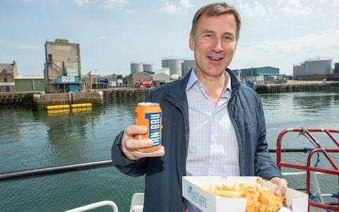 Never mind the Irn Bru, Jeremy Hunt was firm in his support for the Union