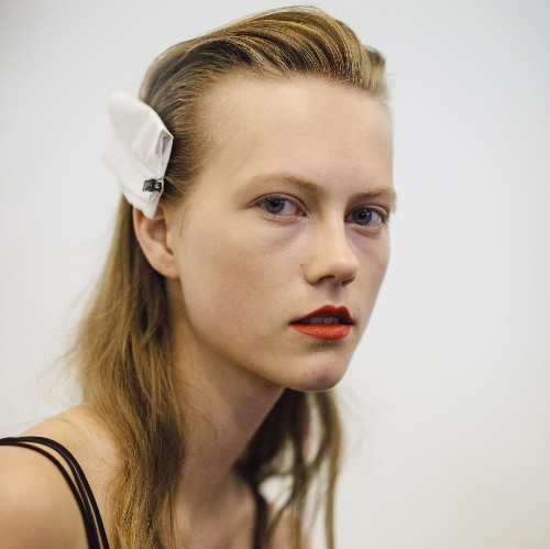 Every beauty look from the spring/summer 2017 shows, including the side ponytails seen at Chanel