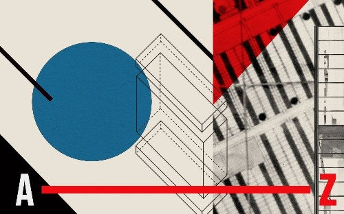 From banjos to yoga: a Bauhaus alphabet
