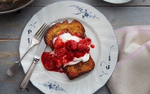 Poor knights of Windsor (French toast) recipe
