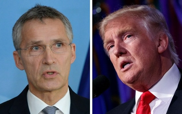 Nato chief warns against 'going it alone' amid fears over Donald Trump's commitment to alliance