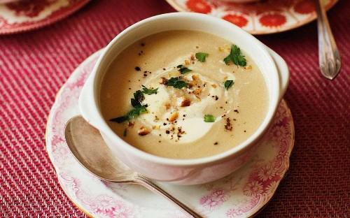 Quince soup