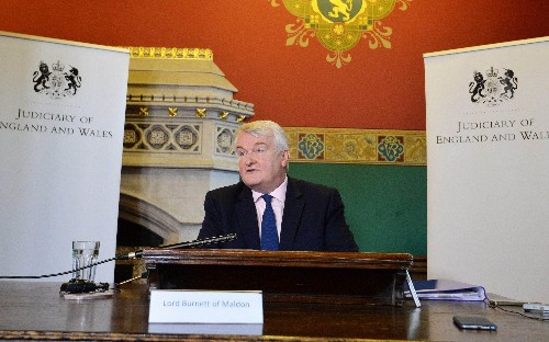 Court delays frustrating victims must be reduced, Lord Chief Justice says