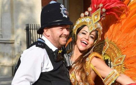Police officers ordered not to dance with revellers at Notting Hill Carnival