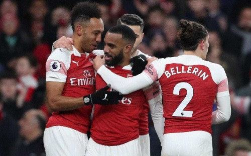 In Pierre-Emerick Aubameyang and Alexandre Lacazette, Arsenal have a strikeforce for Chelsea to envy