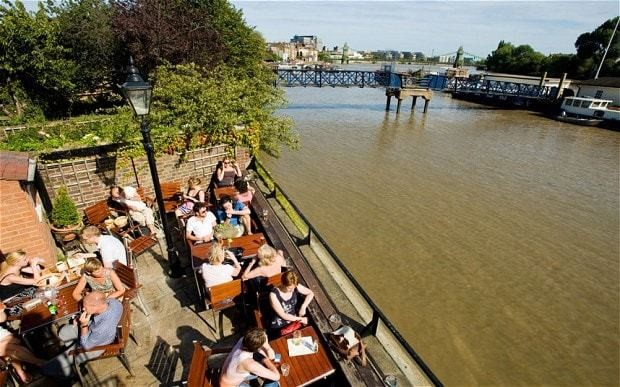 Best London pubs for a sunny day