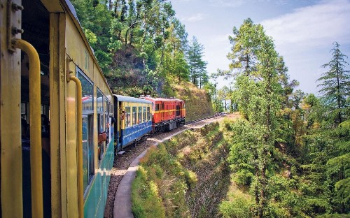 A 100-mile rail trip through the Himalayas – for just 42p