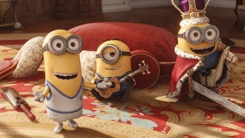 So that's why there are no female Minions