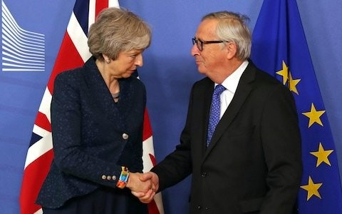 Stop plotting against Theresa May and back the Brexit deal, Jean-Claude Juncker tells MPs