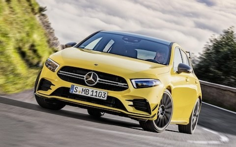 2019 Mercedes-AMG A35 review: fast, yes, but where's the finesse?