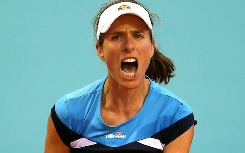 Johanna Konta brushes off crazy schedule to win in Madrid a day after losing Morocco Open final