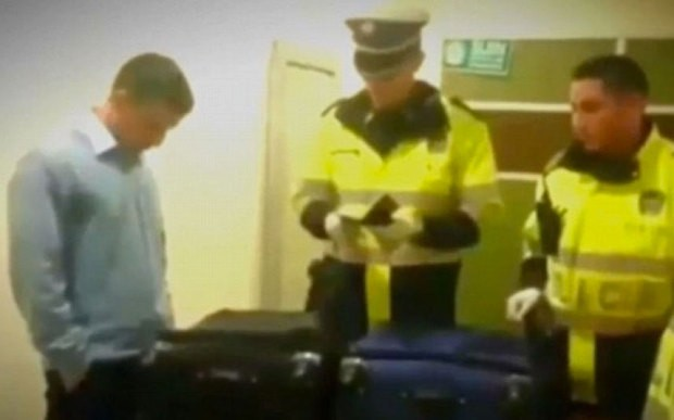 Colombian drug smuggler caught with cocaine worth $2 million in suitcase