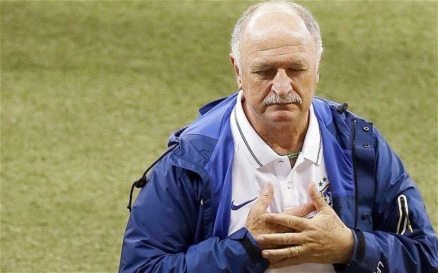 Luiz Felipe Scolari begs for forgiveness after 'worst day of my life' as Brazil suffer 7-1 World Cup beating by Germany