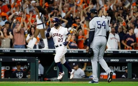 Jose Altuve's walk-off home run sends Houston Astros to the World Series