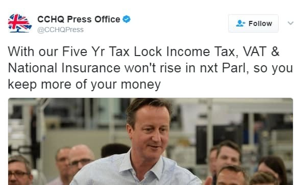 The 20 times the Conservatives tweeted promising not to raise National Insurance