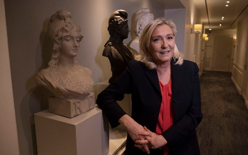 Marine Le Pen: 'All I need is a few more points to beat Macron at next election'