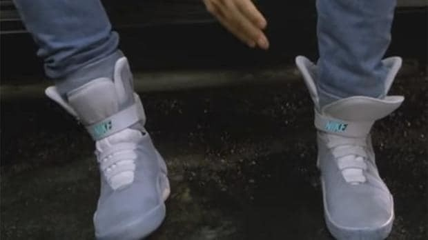 Nike's self-tying Back To The Future shoes are going on sale