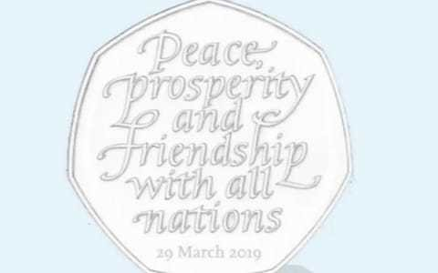 Brexit 50p coins become instant collectibles now extension appears inevitable