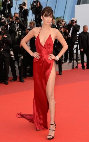 What was the secret behind Bella Hadid's sensational Cannes dress?