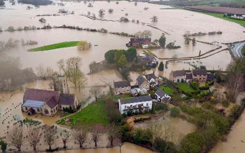 'Atmospheric rivers' over the Atlantic blamed for torrential rain