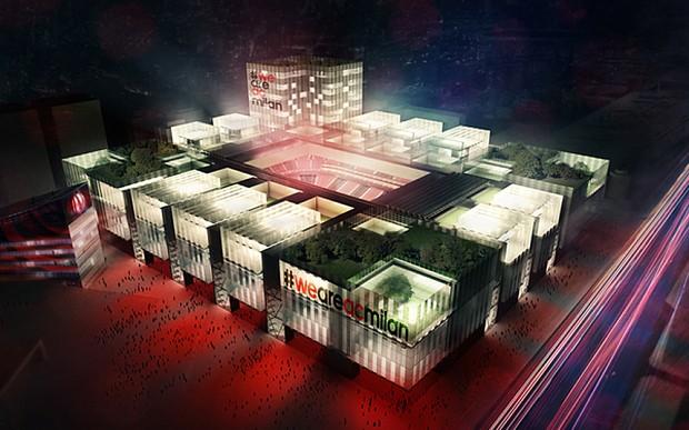 AC Milan unveil plan for new £225m, 48,000 stadium inspired by Arsenal's Emirates