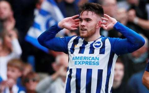 Brighton wonderkid Aaron Connolly proves Ireland production line is not dry