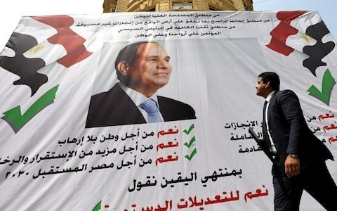 Sisi to stay in power in Egypt until 2030 after referendum 'victory'