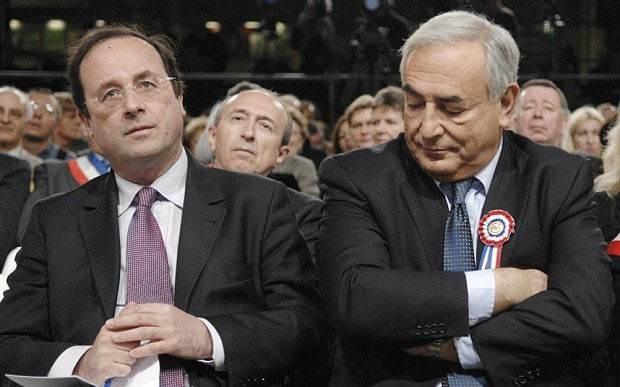 DSK was Hollande's 'secret ambassador to Angela Merkel at height of sex scandal'