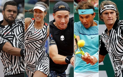 French Open 2016: Best and worst dressed in Paris - and the zebra theme explained