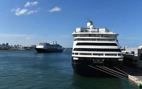 Coronavirus-hit cruise ships finally permitted to disembark healthy passengers in Florida