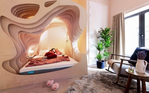 A womb with a view: Is this the most disturbing hotel room ever conceived?