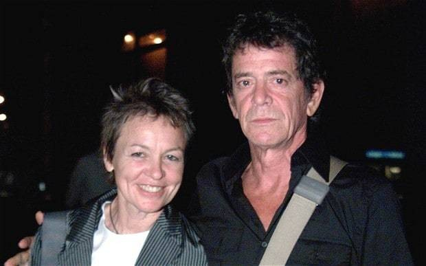 Lou Reed's widow Laurie Anderson writes moving obituary to the late rock star