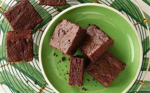 Peppermint chocolate brownies recipe