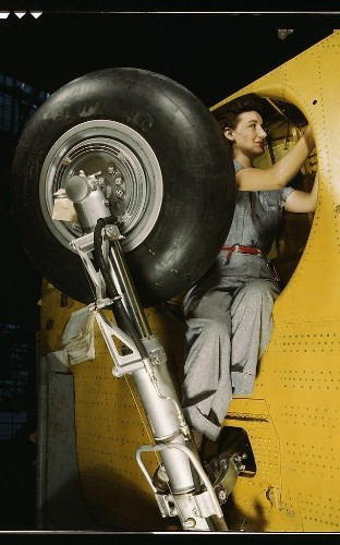 Photographer Alfred T. Palmer captures US women at work in WWII, in pictures