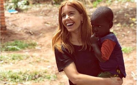 Why is it so unacceptable for a white woman to pose with an African baby?