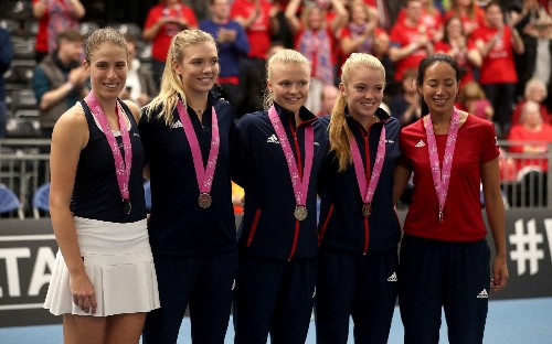 'Words cannot describe how happy we are': Great Britain land home Fed Cup tie against Kazakhstan