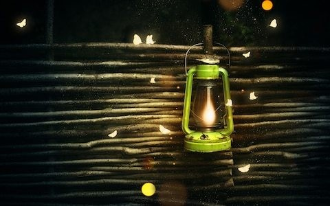Garden lights are a turn-off for moths, says Ken Thompson