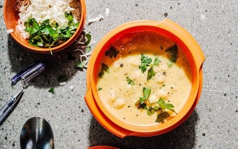 Squash and white bean soup with sage recipe